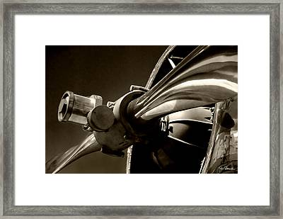 Before The Jets No. 1 Framed Print