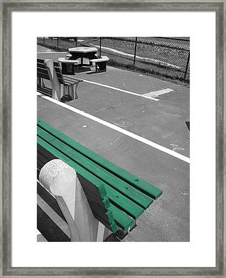 Before The Race Framed Print by Heather Weikel