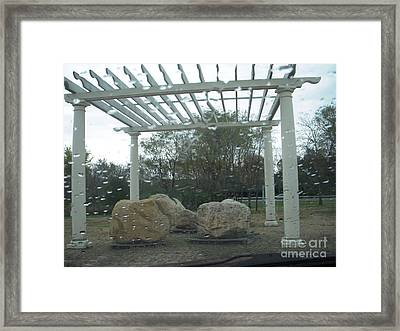 Before The Rocks Cry Out Framed Print by Deborah Finley
