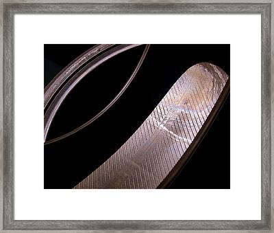 Before The Rubber Meets The Road Framed Print by Rona Black