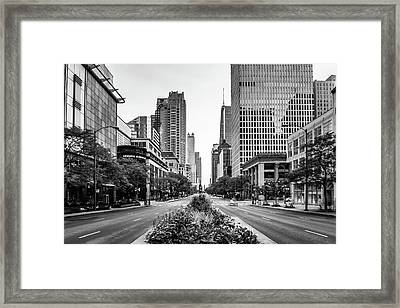 Before The Rush Framed Print by Daniel Chen