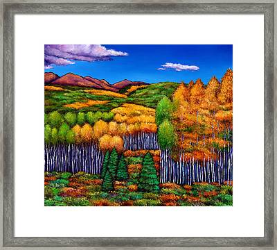 Before The Snowfall Framed Print by Johnathan Harris
