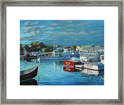 Before The Storm Framed Print by Bruce Dumas
