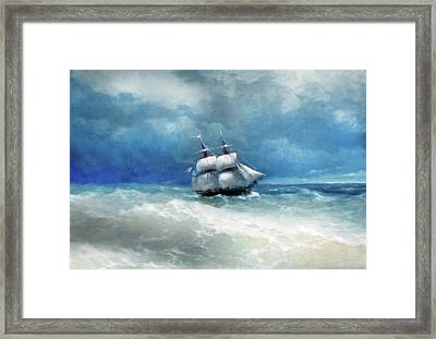 Before The Storm Comes Framed Print
