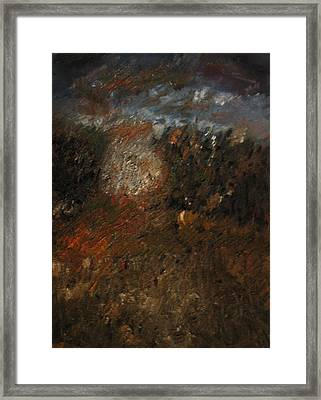 Before The Storm Framed Print by Gyorgy Szilagyi