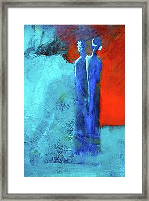 Framed Print featuring the painting Before The Wedding by Nancy Merkle