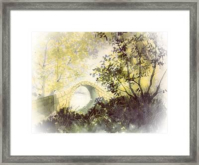 Beggar's Bridge Vignette Framed Print