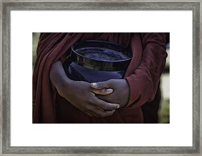 Begging Bowl 1 Framed Print by David Longstreath
