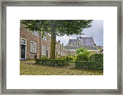 Begijnhof In Breda Framed Print