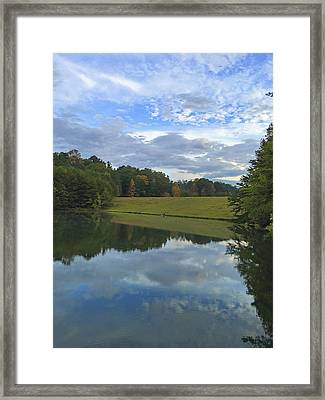 Beginning Of Autumn Framed Print by Susan Leggett
