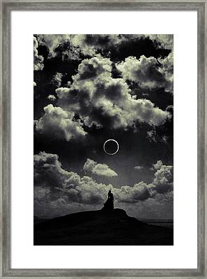 Beginning Of The End Framed Print by Cambion Art