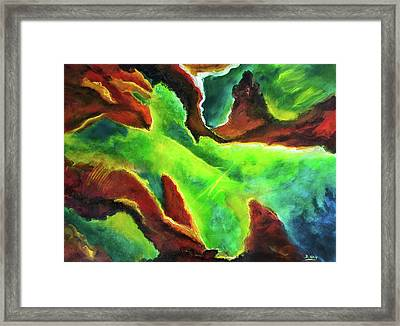 Beginnings 1 #410 Framed Print by Donald k Hall