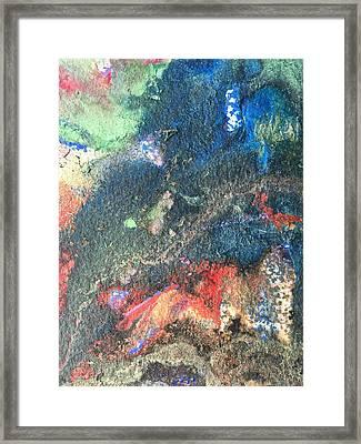 Beginnings - Geology Series Framed Print