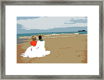 Beginnings Framed Print by Kami McKeon
