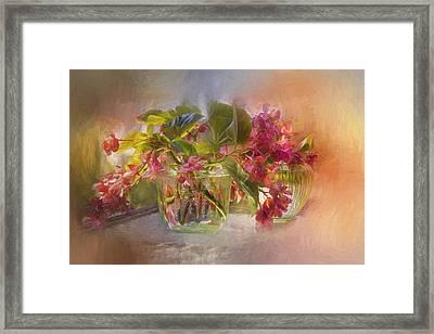 Begonias Framed Print