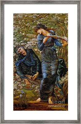Beguiling Merlin 1873 Framed Print by Padre Art