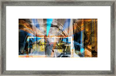 Behind A Dream Framed Print