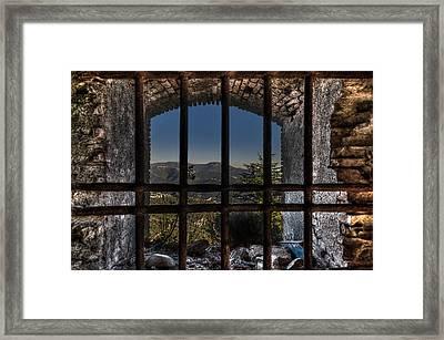 Behind Bars - Dietro Le Sbarre Framed Print by Enrico Pelos