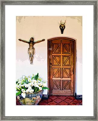 Behind Door Number 2 Framed Print by Dominic Piperata