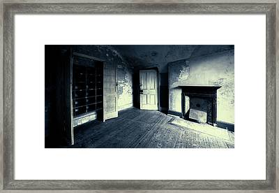 Behind The Door Framed Print by Svetlana Sewell