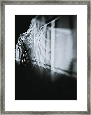 Behind The Mask Framed Print by Art of Invi