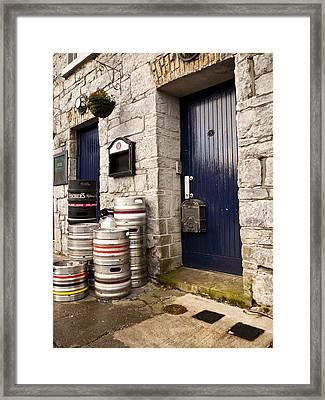 Behind The Pub Framed Print by Rae Tucker