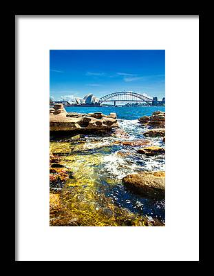 South Pacific Framed Prints