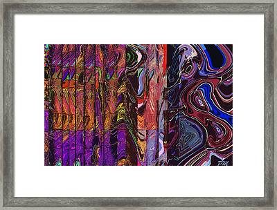 Behind The Rolls Framed Print