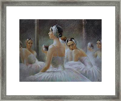 Behind The Scenes Framed Print by Vali Irina Ciobanu