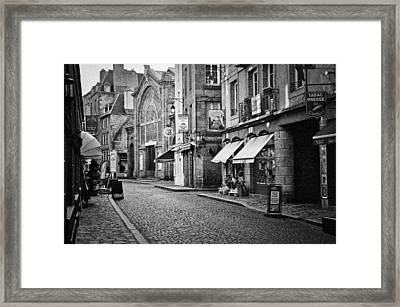 Behind The Walls 01 Framed Print