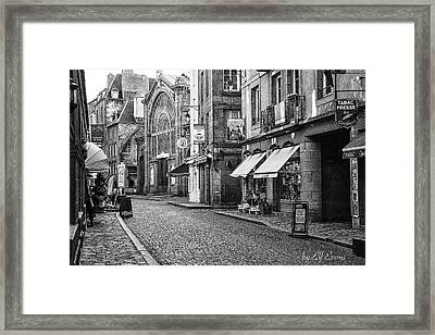 Behind The Walls 2 Framed Print
