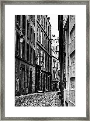 Framed Print featuring the photograph Behind The Walls  by Elf Evans