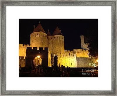 Behold Carcassonne Framed Print by France Art
