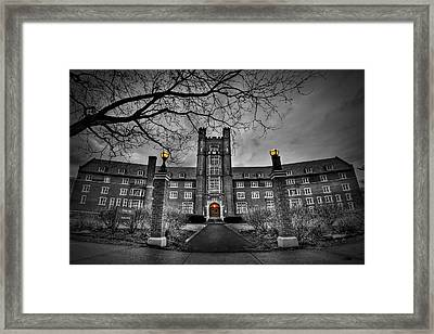 Behold The Night Framed Print