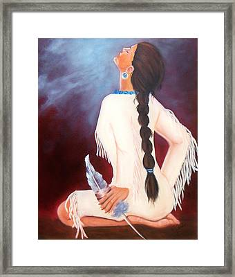 Behold The Spirit Framed Print