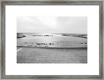 Behold The Tyrrhenian Sea Framed Print