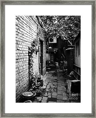 Beijing City 17 Framed Print
