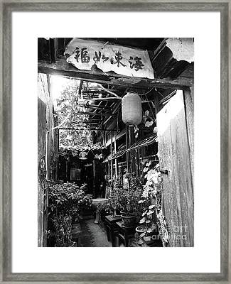Beijing City 22 Framed Print