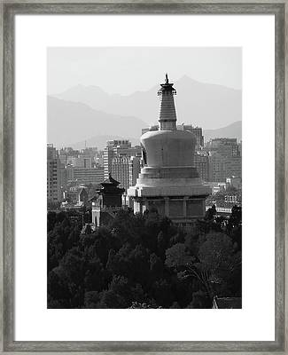 Beijing City 3 Framed Print by Xueling Zou