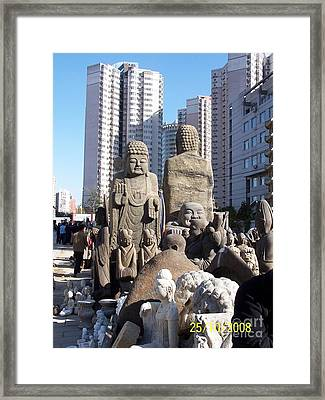 Beijing Framed Print by Jane Stanley