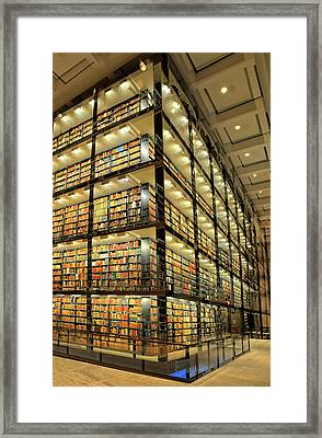 Beinecke Library At Yale University Framed Print