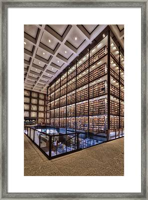 Beinecke Rare Book And Manuscript Library Framed Print