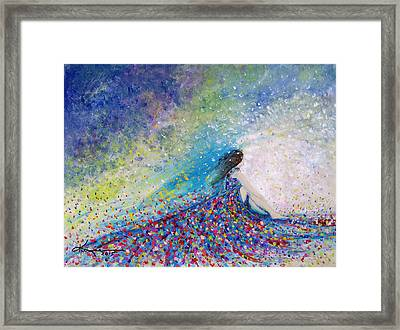 Being A Woman - #5 In A Daydream Framed Print