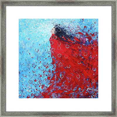 Being A Woman 6 - In Water Framed Print by Kume Bryant