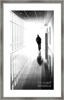 Being Alone Doesnt Mean Youre Free Framed Print