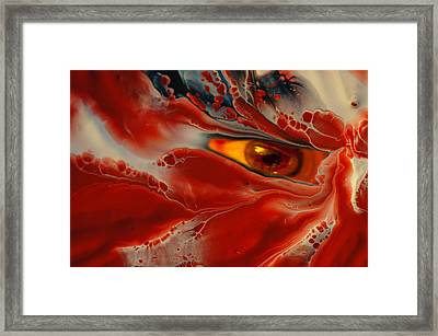 Being Bled Dry Framed Print