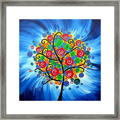 Being Magnificent Framed Print by Cathy Jacobs