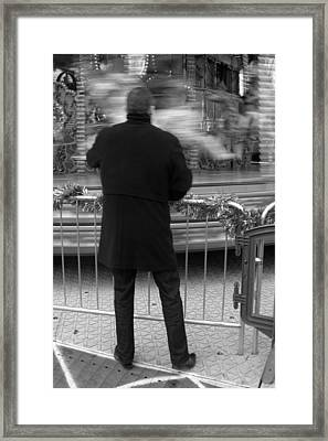 Being Patient Framed Print by Jez C Self