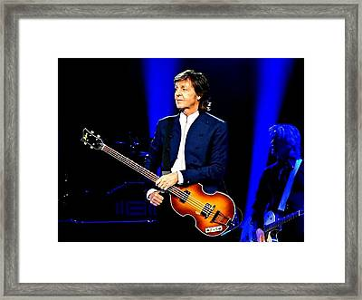 Being Paul Framed Print by Keri Butcher