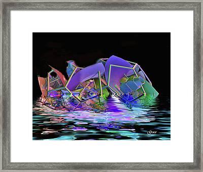 Being Set Free Framed Print by Julie Grace